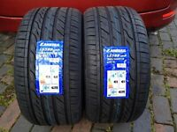 265 35 18 Landsail car tyres All weather fits MERCEDES BMW 2 TYRES