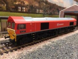 OO Hornby DCC ready Class 59 DB Schenker livery - new - model railway