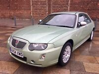 ROVER 75 CONNOISSEUR ++ ALLOYS ++ FULL LEATHER ++ CD ++ AIR CON ++ JANUARY MOT.