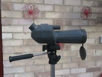FOR SALE Nikon Spotting Scope with Centon PV23 Gunmetal Tripod, Bird Watching , Moon Watching Etc'