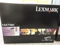 Lexmark 12A7460 Toner - Genuine Original