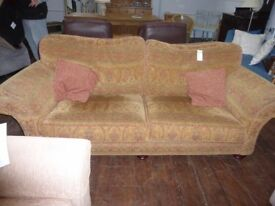 A wonderful retro patterned sofa