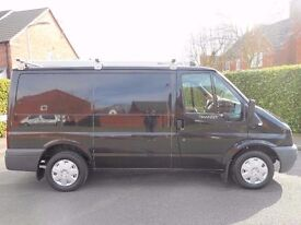 FINANCE AVAILABLE!! NO VAT!! Stunning Ford Transit 110 bhp limited with Air con,Parking sensors..