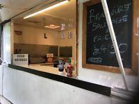 Catering trailer/burger van (double axle)