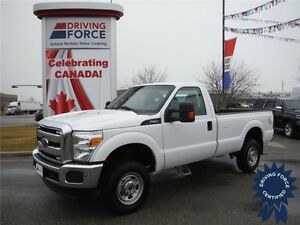 Regular Cab - 4WD - 6.2L Gas - 8 Ft Box - 2015 F250 w/31,500 KMs