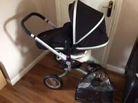 Silver Cross Surf pram and accessories pack