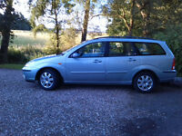 2004 Ford Focus Ghia estate automatic, 2.0 litre petrol 77000 miles, 2 owners, MOT July 2017, £1350