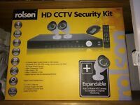 CCTV security kit brand new in box paid £150 plus camera bought separate £30 odd
