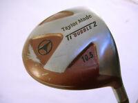 Taylor Made Bubble 2 Shaft 10.5 TI Golf Driver 2 Iron Flex Shaft (WH_1841)