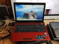 asus a52f windows 7 6g memory 500g hard drive webcam wifi dvd drive hdmi charger