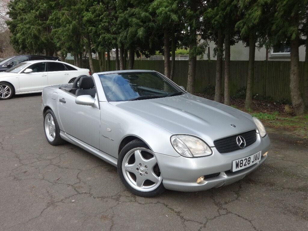 mercedes benz slk 230 kompressor convertible amg kit leather slk230 not slk200 320 z3 z4 mx5 clk. Black Bedroom Furniture Sets. Home Design Ideas