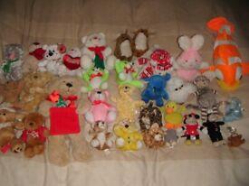 Joblot Baby Kids Teddy Bears Stuffed Animals