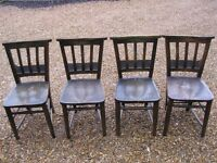 OLD CHURCH CHAIRS. ** 24 AVAILABLE** DELIVERY POSSIBLE. Also pew & other chapel chairs.