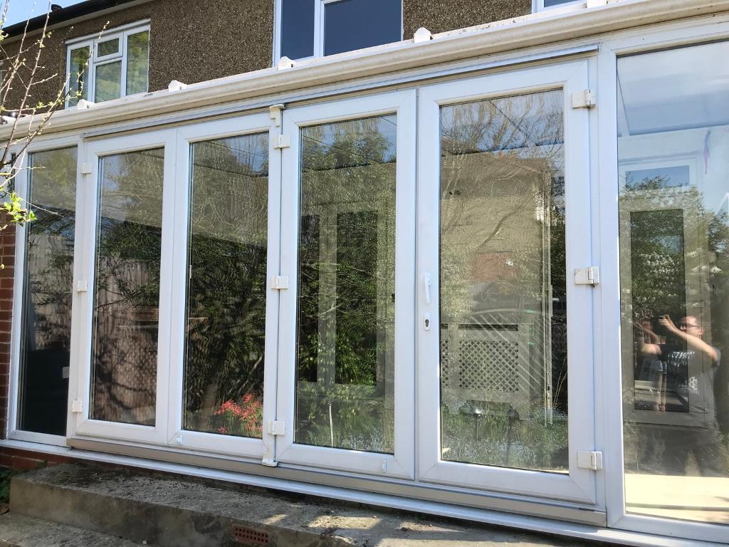 Upvc Bifold Patio Doors Delivery 46no In Spalding Lincolnshire