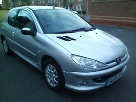 ✰ CHEAP AS CHIPS ✰ 2005 Peugeot 206 1.1 SPORT 3dr Manual ★ DRIVES REALLY WELL ★