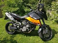 KTM Super Moto Touring SMT 990 with hard luggage and extras no swap or offers