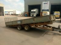 16 ft ifor williams tipper trailer