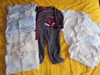 6-9 months baby boys clothes bundle (35 items)