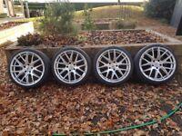 BMW alloy wheels 19 AVA Phoenix Hyper Silver Alloy Wheels
