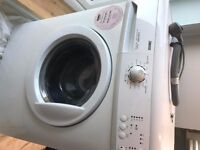 White Zanussi Washing machine, nearly new in great condition