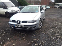 2004 SEAT LEON 1.9 TDI 110 BHP 5 DOOR MANUAL DIESEL