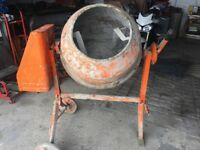 Alko half bag cement mixer 240v