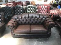Stunning Thomas Lloyd chesterfield 2 seater sofa UK delivery