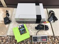 Nintendo nes with 150 game inc mega man castlevania and mario