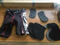 Motocross enduro padded shorts