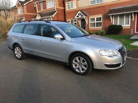 2007 (57) VOLKSWAGEN PASSAT 1.9 ESTATE SE DIESEL LONG MOT