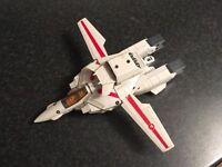 Vintage vf-1J jet fighter transformer toy metal type made in japan