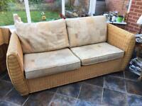 Rattan conservatory sofa furniture