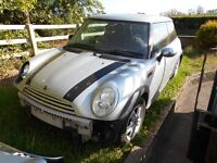 Mini One D 2006 R50 for Breaking