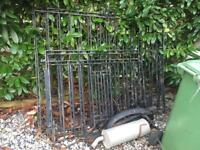 Set of Large and Small Driveway Gates