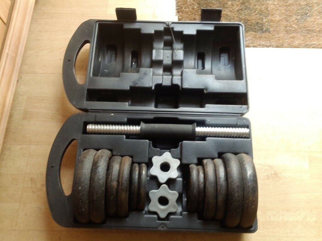 Dumbell and weights