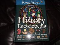 History Encyclopedia, hardback. Excellent condition.