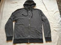 H&M men's fleece hoodies full zipper size M used £3