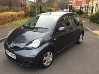 TOYOTA AYGO 1.0 PETROL,£20 TAX FOR THE YEAR,7 MONTHS MOT,LOW MILEAGE,AIR CON.