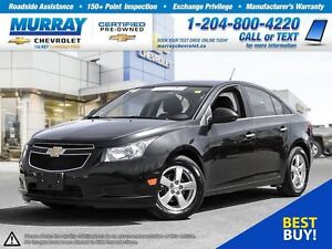 2014 Chevrolet Cruze 2LT *Leather Heated Seats, Remote Start, On