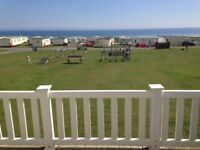 Crimdon Dene 8 berth luxury caravan for hire right next to entertainment complex