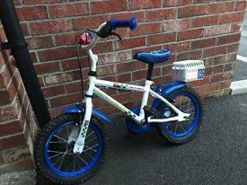 Children's bike - 14inch Apollo Police bike