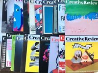 20 Issues Creative Review Magazine - Very Good Condition