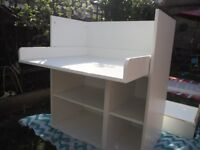 IKEA Stuva convertible changing table/storage unit/desk