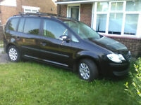VW TOURAN 1.9 TDI 90 7 SEATER ONE PREVIOUS OWNER