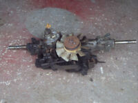 John Deere STX 38 Hydrostatic ride on mower gearbox - back axle - Transaxle