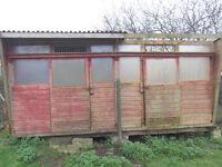 Pigeon loft/shed