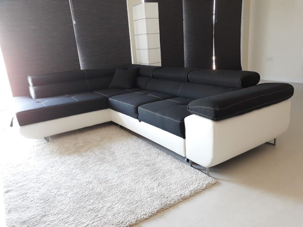Large Corner Sofa Bed with Storage *FREE carpet* | in ...