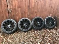 "BMW MV2 18"" Alloy Wheels, Alloys Satin Black"