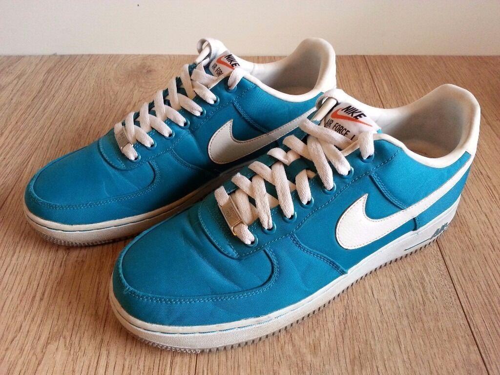 huge discount 98698 cf0d6 Nike Air Force 1 Low Tops Trainers UK 8 US 9 EU 42.5 CM 27 Men Women Tropical  Teal Green Used £40