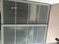IKEA PAX 2 X double wardrobes (Frosted glass sliding doors)
